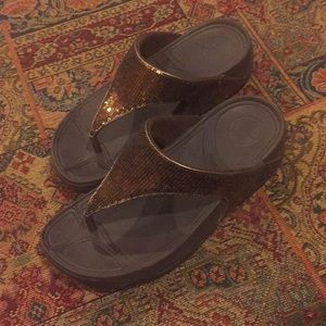 Fitflop Electra Bronze/Brown Excellent!